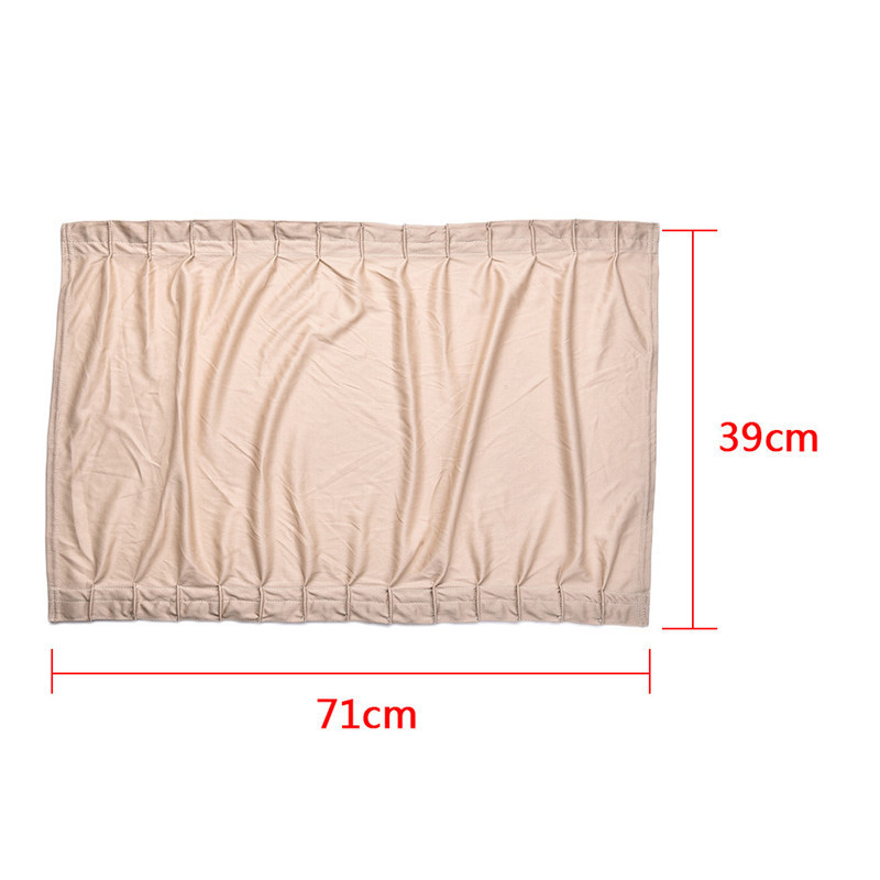 High Quality Car Side Window Sunshade Update 70L Elastic Auto Car Curtain 3 color can choose