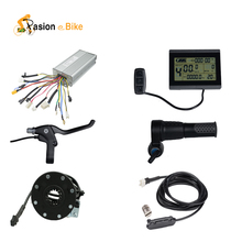 Pasion ebike 48V 1500W Electric Bicycle Electric Components  for 1500W Controller LCD Display Twist Throttle Brake Lever PAS