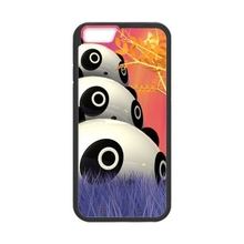 0850 Panda Funny Alarm Kung Fu Panda cell phone bags case cover for iphone 4S 5S 5C SE 6S 7 PLUS Samsung S3 S4 S5 S6 S7 IPOD 4 5