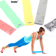Itstyle 5PCS in 1 Set Sports Resistance Bands Yoga Pulling Ring Workout Stretching exercises Fitness Equipment Gym Accessories