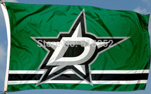 NHL Dallas Stars Flag 3x5 FT 150X90CM Banner 100D Polyester flag 1136, free shipping
