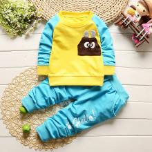 2017 newBaby Boy's sets children clothing sets Kids 2pcs suits sets baby tracksuits High quality  cotton hoody sweatshirt + pant