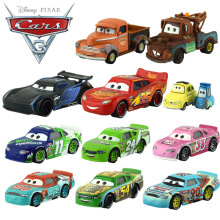 2017 New 20 Style Disney Pixar Cars 3 Alloy Car Toy Lightning McQueen Jackson Storm Natalie Certain Cars Toy Best Birthday Gift(China)