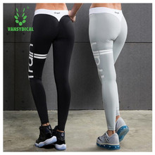 Vansydical Yoga Sports Leggings For Women Sports Tight Yoga Leggings Comprehension Yoga Pants Women Running Tights Women