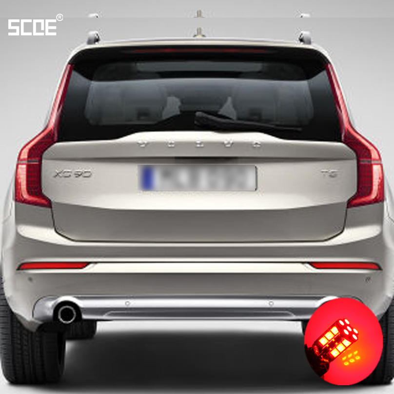For Volvo C30 S40 S60 S80 V40 V50 V60 XC60 XC90 SCOE 2015 New 2X30SMD LED Brake Stop Light Rear Parking Light Source Car Styling<br><br>Aliexpress