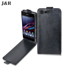 Buy Sony Xperia X Compact Case Flip Leather Back Cover Sony Xperia X Compact F5321 4.6 Inch Vertical Magnetic Phone Cases for $3.87 in AliExpress store