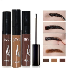 High Quality Peel off Eyebrow Enhancer Tint Gel Tattoo Makeup Eyebrow Cream Dye Color Natural 3 Days Long Lasting