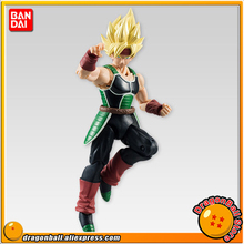 "Japan Anime ""Dragon Ball Z"" Original BANDAI Tamashii Nations SHODO Vol.5 Action Figure - Super Saiyan Bardock (9cm tall)"