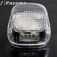 2017 New Clear Lens LED Tail Brake Light Taillamp Motorcycle Flashing Rear Lights For Harley 2000-later FLST FLSTF FLSTSB FLSTC(China)