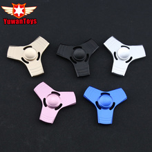 Buy 5 Colors EDC Fidget Spinner UFO Tri-spinner Zinc Hand Spinner Aluminum Alloy Fidget Toy Anxiety Stress Adults Kid Metal Spinner for $5.09 in AliExpress store