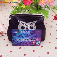 Coin purse womens Owl Wallet Card Holder Coin Purse Clutch Handbag 0309 drop shipping