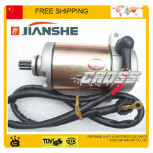 JIANSHE 400cc ATV electric starter electric start motor QUAD accessories free shipping(China)