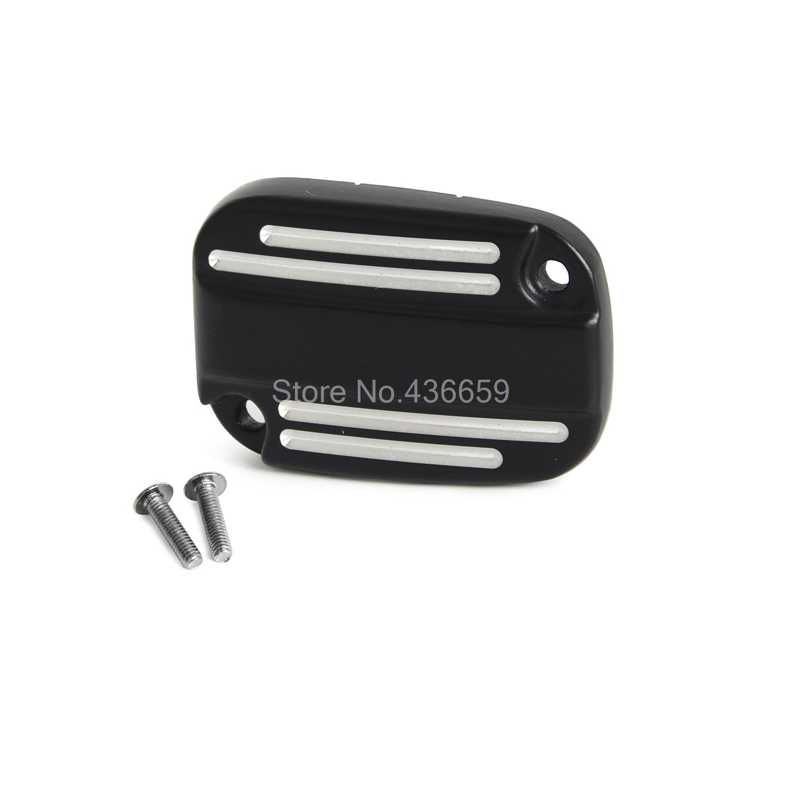 Brake Master Cylinder Cover For Harley  Davidson Touring V-Rod  Trike  Street  Glide<br><br>Aliexpress