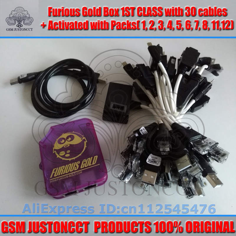furious gold box+30 cable+pack2.3.4.5.6.7.8.11.12-GSMJUSTONCCT-5