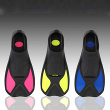 Men And Women Swimming Fins Outdoor Swimming Water Shoes Underwater Flippers Diving Fins Equipment Submersible Diving Foot(China)