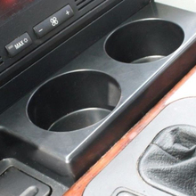 HELST Premium Car Black Front Cup Holder Fit For BMW E39 5 Series 1997-2003 525i 528i 530i 540i M5 Drinks Holders SA358 T91