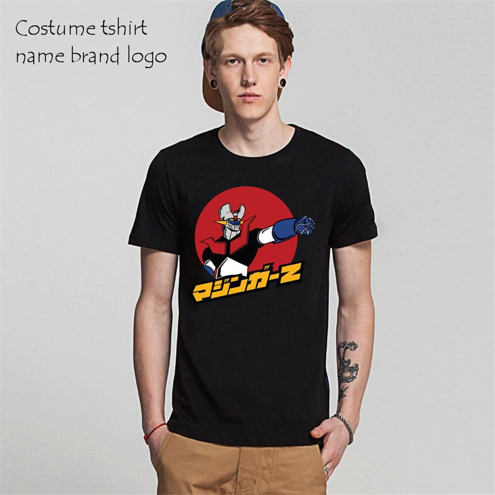 Design tshirt online free shipping - Short Sleeve Men S T Shirts Cartoon Anime Mazinger Z T Shirts Free Shipping Hombre Hot Selling Online Tshirts Design Gymshark