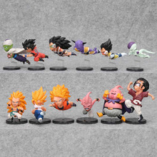 6pcs/set 7-9cm Dragon Ball Z Action Figure WCF The Historical Characters Vol.1 Vol.3 Dragon Ball Toy Figure Toys