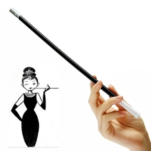 Hot Women's selling Long Series Retractable Vintage Cigarette Holder Smoking Weed Pipe / Photographic Props Fashion Beauty