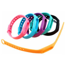 Colorful Silicone For Xiaomi Miband Smart Wrist Band Bracelet Wrist Strap Use For Xiaomi Mi Band Smart Band Watch 1 Piece
