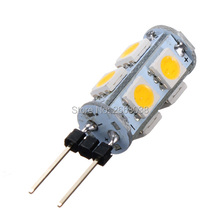 Big Promotion G4 9 SMD 5050 LED Pure White Warm White Car Cabinet Boat lights Bulb Lamp DC12V(China)