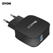 For Quick Charge 3.0 QC 3.0 USB Turbo Wall Fast Travel Charger for SAMSUNG S8 Plus HUAWEI P9 Zenfone 3 HTC 10 LG G5 For iPhone 7
