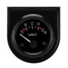 """1 шт. Универсальный 12 В 2 """"52 мм вольт Напряжение метр колеи вольтметр Авто Диапазон измерения 8- 16 В свет(China)"""