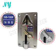 Plastic Panel Advanced Front Entry CPU Coin Selector Coin Acceptor For Vending Machines Arcade Machines(China)
