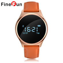 Buy FineFun M7 Round Bluetooth Smart Watch Waterproof Blood Pressure Monitor Heart Rate Monitor Sport Android IOS for $53.33 in AliExpress store