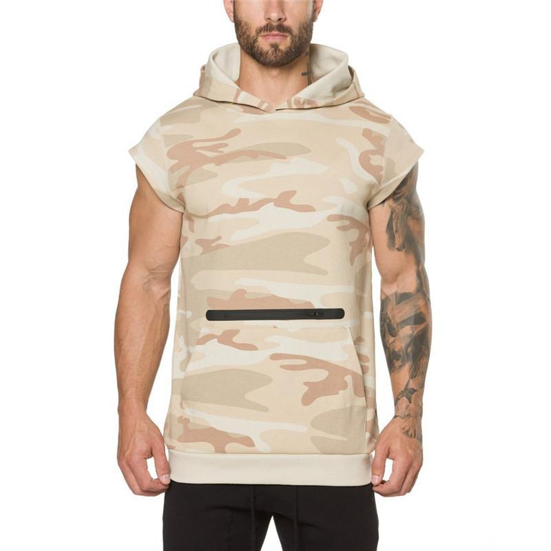 Camouflage fitness Men Sweatshirt-3