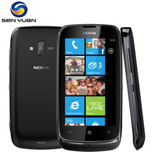 Original Nokia Lumia 610 Windows Mobile Phone 8GB Storage Camera 5.0MP GPS Wifi 3G Cell Phone(China)