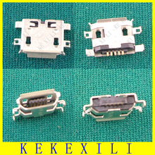HOT!! 50pcs New DC Power Jack Micro USB JACK End Plug Socket for netbook/Lenovo S720 S720i A820t A800 S820 S880 P780