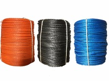 High Quality 3mm x 30m Synthetic Winch Line UHMWPE Fiber Rope Towing Cable Car Accessories For 4X4/ATV/UTV/4WD/OFF-ROAD(China)