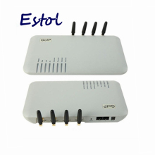 Promotional,Wholesale 4 Channels GOIP / GSM VOIP gateway SIP Gateway, Support VPN & IMEI change&SMS,4 GSM Chips DBL GOIP4