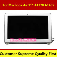 "Tested Laptop Screen For Macbook Air 11"" A1370 A1465 LCD LED Screen Assembly 2010 2011 2012 100% Working(China)"