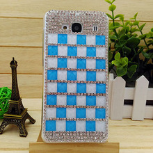 Luxury High Quality Diamond Bling Squares Pattern Cell Phone Case Shell For XiaoMi Mi RedMi Pro/Redmi Note4/Note 3/Note 2