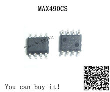 MAX490CS SOP8 MAX490 SOP SMD 10piece/lot new and original