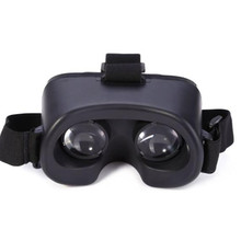 Malloom 2017 VR Glasses for Google Cardboard VR BOX 3D Virtual Reality Glasses for 4-6 Inch Screen Mobile phone Black(China)