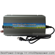 Free Shipping 10.5~28V DC to AC90~140V Pure Sine Wave Solar Inverter 1000W 1KW Solar Grid Tie Micro Inverter