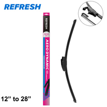 Refresh Aerodynamic Windscreen Wiper Blade Fit Standard Hook Arms Cleaning Automotive Glasses High Performance - ( Pack of 1 )(China)
