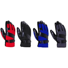 1Pair High Quality Men's Luxurious Taslon Cotton Anti-slip Winter Gloves Super Driving cycling Warm tactical Velcro Gloves