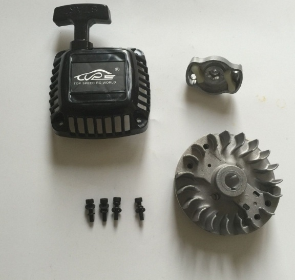 TSRC Pull Starter with flywheel Upgrade Fit 1/5 HPI Baja 5B 5T 5SC<br><br>Aliexpress