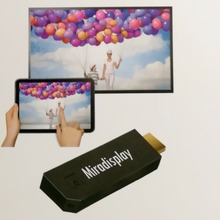 Miradisplay TV Dongle 2.4GHz/5GHz HDMI Mini WiFi Miracast Airplay DLNA 1080P (Full-HD) TV Stick For Smart Phones Tablet PC