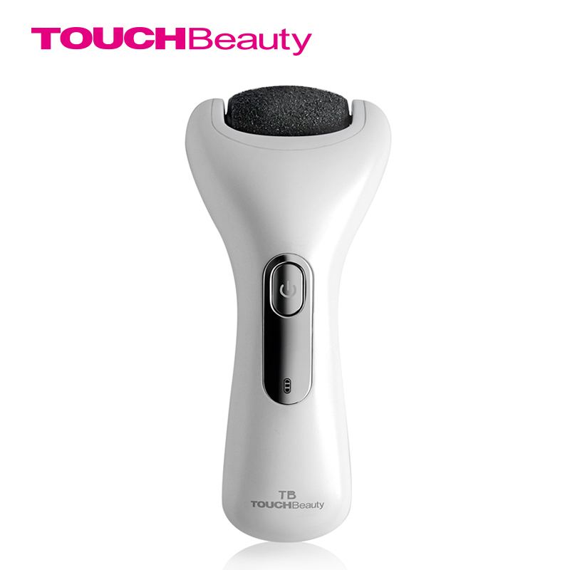 TOUCHBeauty  TB-1536 Electric Pedicure tool Foot File Callus Shaver Wet Dry Rechargeable Corn Hard Skin Remover with Roller Head<br>