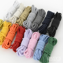 5x 3m x 2mm DIY handmade apparel garment accessories imported rubber elastic rope color band one sewing supplies(China)