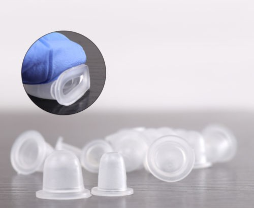 100pcs 2 Size Option Tattoo Ink Cups For Permanent Tattoo Makeup Eyebrow Makeup Pigment Container Caps Disposable Accessories 37