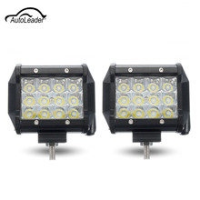 72W 5 Inch LED Car Day Light Spot Light Lamp Bright Light Work Assembly for Motorcycle Driving Offroad Boat Car Tractor Truck(China)