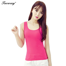 Women Tank Tops Bustier Crop Top Cropped 2016 Summer Solid Shiny Pearl O Neck slim Vest Tees Blusas Camisas Mujer Plus Size