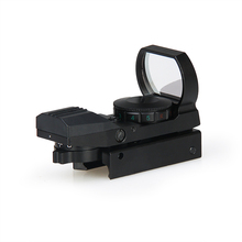 Tactical Black OrTan Color 1X Red Green 4 Reticles Mini Red dot Scope For 22MM Rail for CS Wargame GZ2-0090A