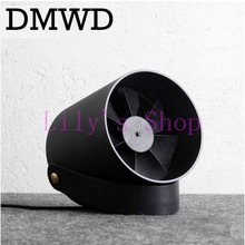 DMWD Desktop USB mini air conditioner Fan Portable Ventilation Conditioning Blower cooling fans Adjustable Speed cooler office